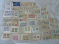 UNITED NATIONS UN 140 STAMP LOT EMERGENCY FORCE CHAGALL WINDOW 15TH ANNIVERSARY