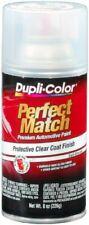 Duplicolor Perfect Match Clear Top Coat Aerosol Spray Paint Automotive Auto Car