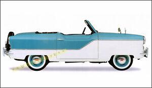 Nash Metropolitan 1957 Vintage Poster Print Car Art American Classic Car