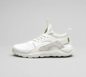 Infant Nike Huarache Ultra White/Gold
