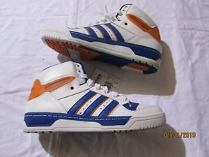 new style 8a06c a8f07 Image is loading Mens-Size-12-OG-Adidas-789002-TreFoil-Retro-