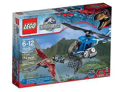 Lego Jurassic World - Pteranodon Capture - BNISB - 75915 - AU Seller