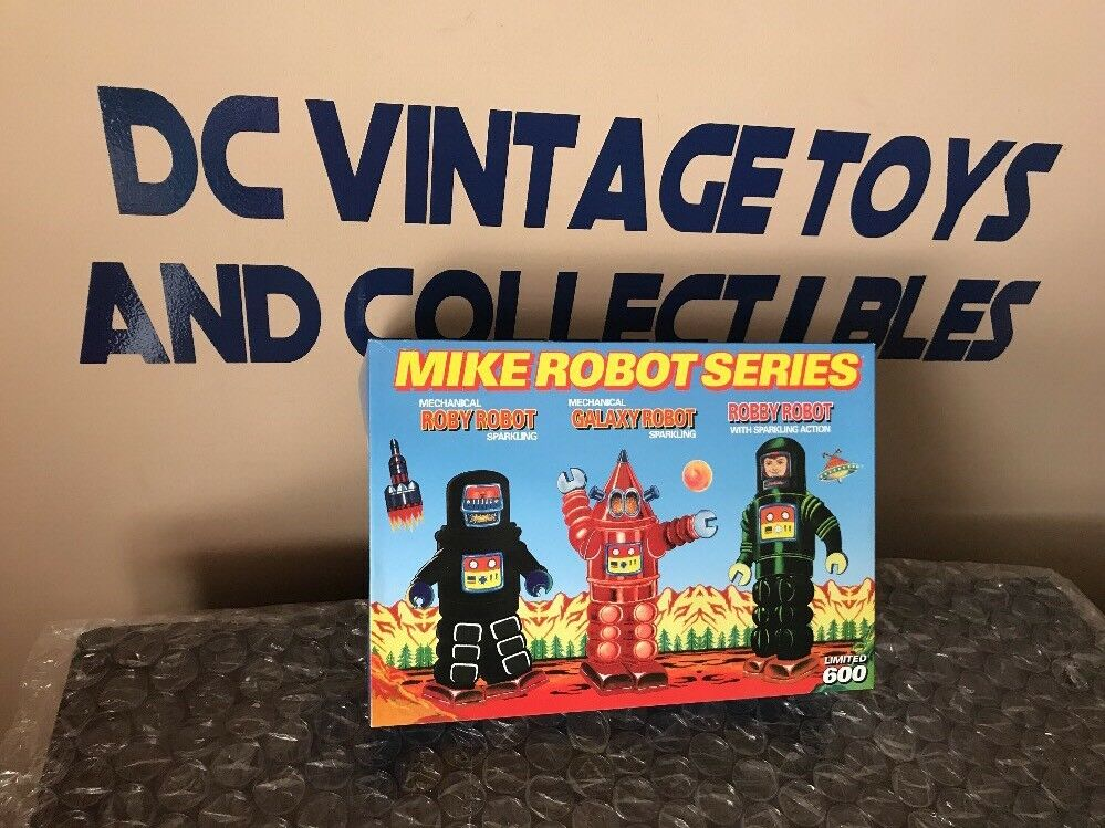 Mike Robot Series Tingiocattolo Mechanical  Roby Robot-Galaxy Robot-Robby Robot Limited  presa
