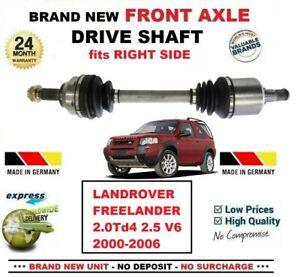 Para-Landrover-Freelander-2-0Td4-2-5-V6-2000-2006-nuevo-eje-delantero-derecha-Eje-de-transmision