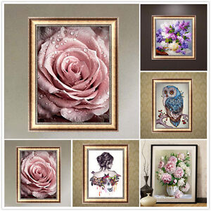 DIY-5D-Diamond-Painting-Butterfly-Beauty-Embroidery-Cross-Stitch-Home-Decor-New