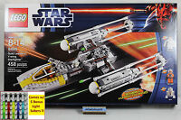 Lego Star Wars - 9495 Gold Leader's Y-wing Starfigher Nisb R5-f7 Leia Minifigure