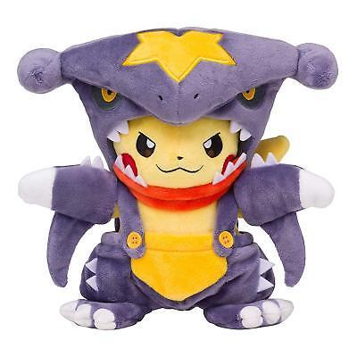 Pokemon Center Garchomp Maniac Costume Pikachu Plush Doll Stuffed Toy 2018 Gift