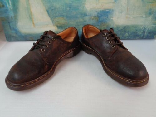 2a266d62a1 Lace Size Tie Oxford Uk9Usm10 1561 Leather Dr Vintage Up Marten Guc Brown  59 nP0kOw