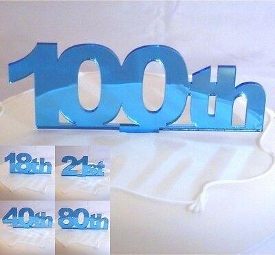 Celebration Numero Cake Topper Acrilico Blu (scegliere Numeri Da 21 A 30)-mostra Il Titolo Originale Rendere Le Cose Convenienti Per Le Persone