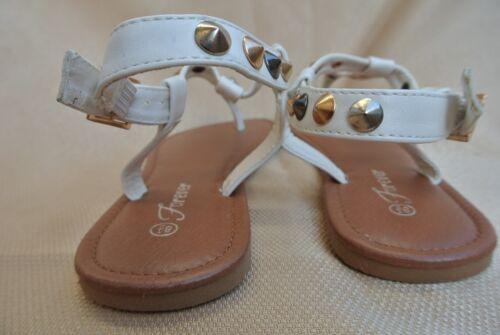 New Women T-Strap Flat Sandals Flip Flops Shoe Sizes 5-10