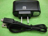 Genuine Samsung Ac Wall Charger Usb Cable For Aq100 Mv800 Wb30f Dv150f Dv90