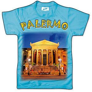 CARTOLINA-FORMA-DI-T-SHIRT-PALERMO-TEATRO-MASSIMO-SICILIA-SICILY-POSTCARD