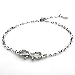 Image Is Loading Sterling Silver 925 Infinity Bow Charm Design Promise