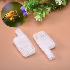 Us Stock 12x Plastic Beekeeping Rearing Queen Bee Hair Roller Cages Beekeeper