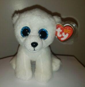 Ty Beanie Baby - ARCTIC the Polar Bear (6 Inch) MINT with MINT TAGS