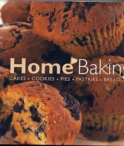 Home-Baking-Cakes-Cookies-Pies-Pastries-Bread-FREE-AUS-POST-used-hardcover