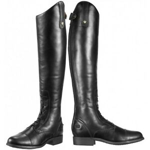 de5369b0ffa Details about ARIAT HERITAGE CONTOUR FIELD ZIP LONG LEATHER RIDING BOOT