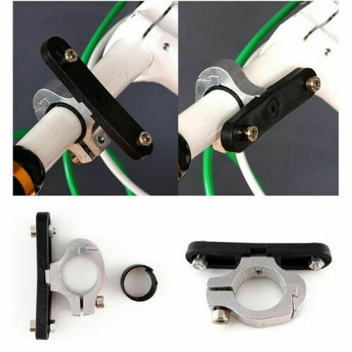 Bicycle Water Bottle Cup UK Bike Handlebar Clamp Base Cycling Cage Mount Holder