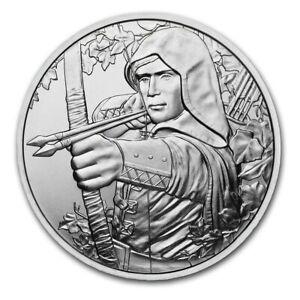 2019 Silver Austria 825th Anniversary Robin Hood BU 1 oz
