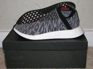 Details about adidas NMD CS2 PK Primeknit Glitch BlackWhite Mens Size 9.5 DS NEW BZ0515 Boost