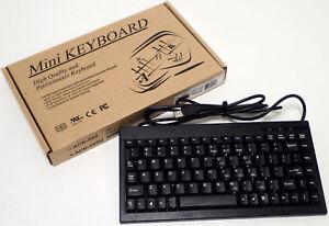 ADESSO-ACK-595-MINI-KEYBOARD-w-EMBBEDED-NUMERIC-KEYPAD-USB-BLACK-NEW