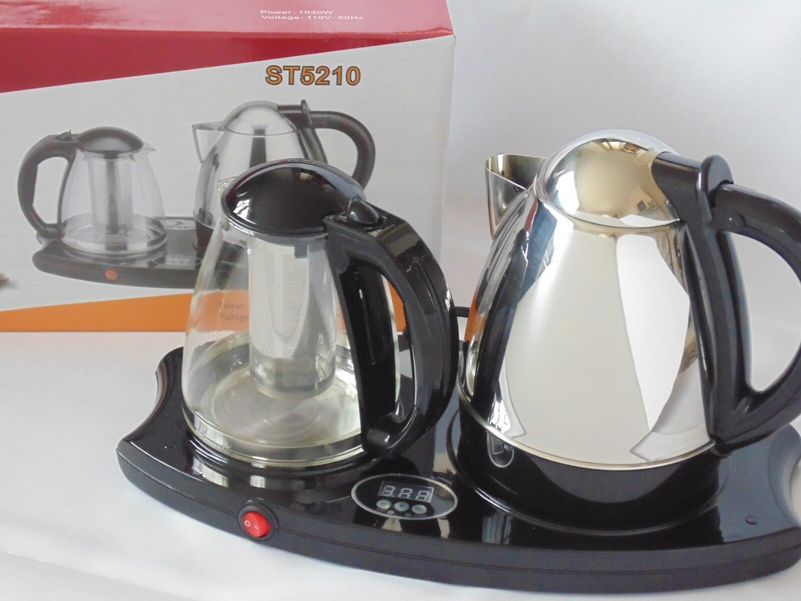 NEW Electric DIGITAL Tea Kettle Pot Boil Water Stainless Coffee Multi-use NIB