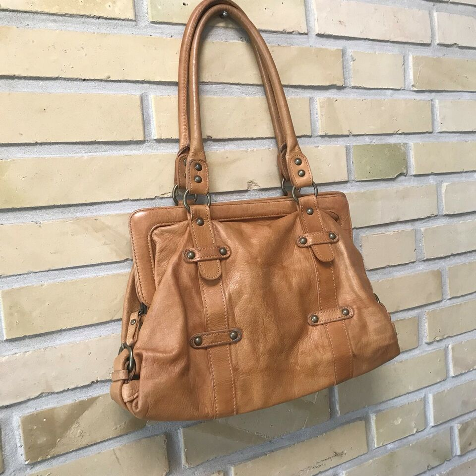Anden håndtaske, H&M, læder