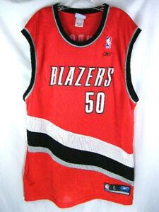 best loved aeff7 bd755 Details about Portland Trail Blazers Reebok Basketball Jersey #50 Zach  Randolph Men's Large L