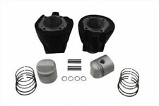 Honed Fitted 1000cc Cylinder & Piston Engine Kit 73-85 Harley Sportster Ironhead