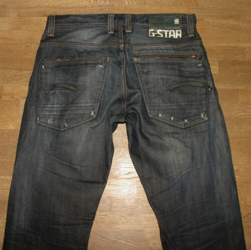 Star 3301 Jeans Raw Ca Blau Originals Herren l33 In Dkl W32 G dqIASwd
