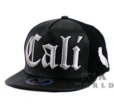 e5dc3815 California Republic hat CALI cap Snapback Faux Leather Flat bill Baseball  cap