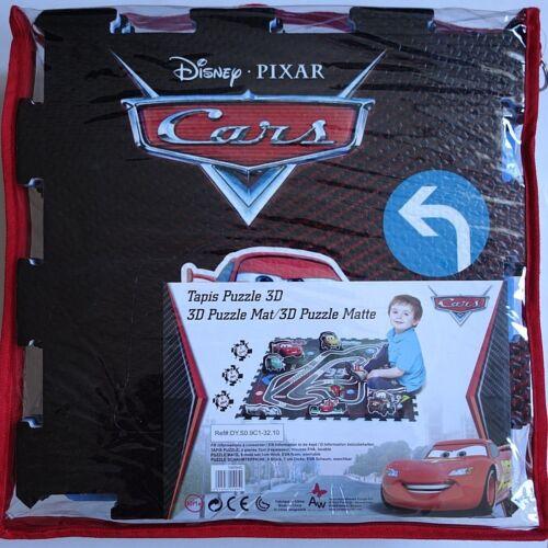 Puzzle Teppich Disney Pixar CARS EVA Schaum waschbar 92x92 cm mit Tasche