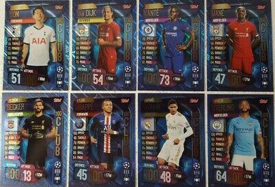 tarjetas individuales cien//100 Club Topps Match Attax 2019//20