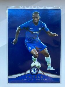 VICTOR MOSES CHELSEA NUMBERED /75  2018-2019 PANINI TREBLE