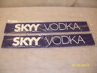 (2) Skyy Vodka - 24 Rubber Bar Rail Spill Mat - Set Of 2 -