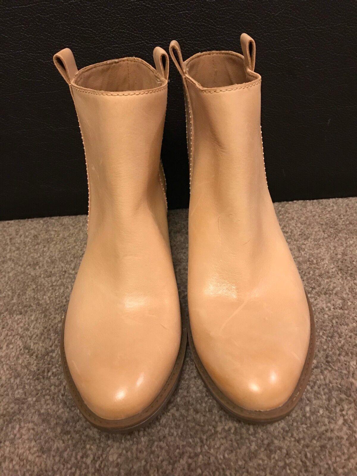 Clarks Ex-display crème beige nude bottes femmes chaussures femmes taille 5 (38)