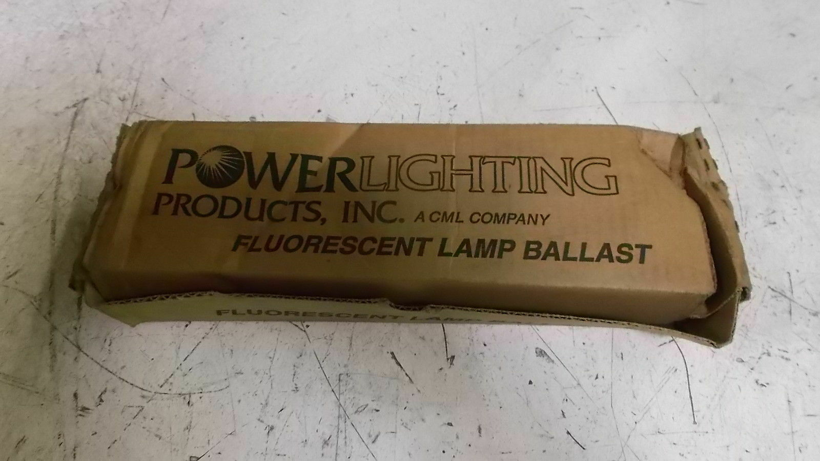 POWER LIGHTING 8G1762W BALLAST NEW IN BOX