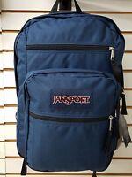 Jansport Big Student Backpack Classic Navy Blue For 2017