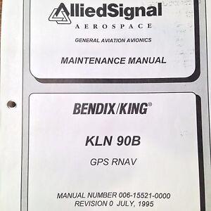 King kln 90b gps rnav service manual   ebay.