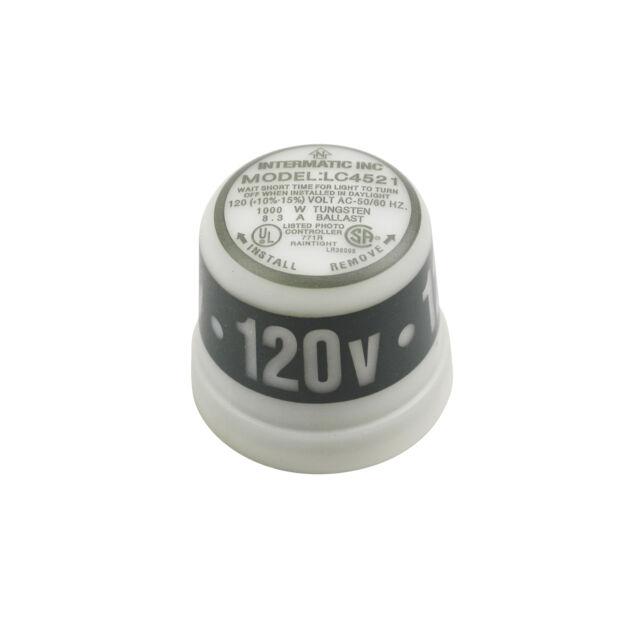Intermatic K4521 Photo Control 120v