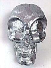Alien Skull Roswell Gray Silver Prop Scary Halloween UFO Space Sci-Fi Strange #