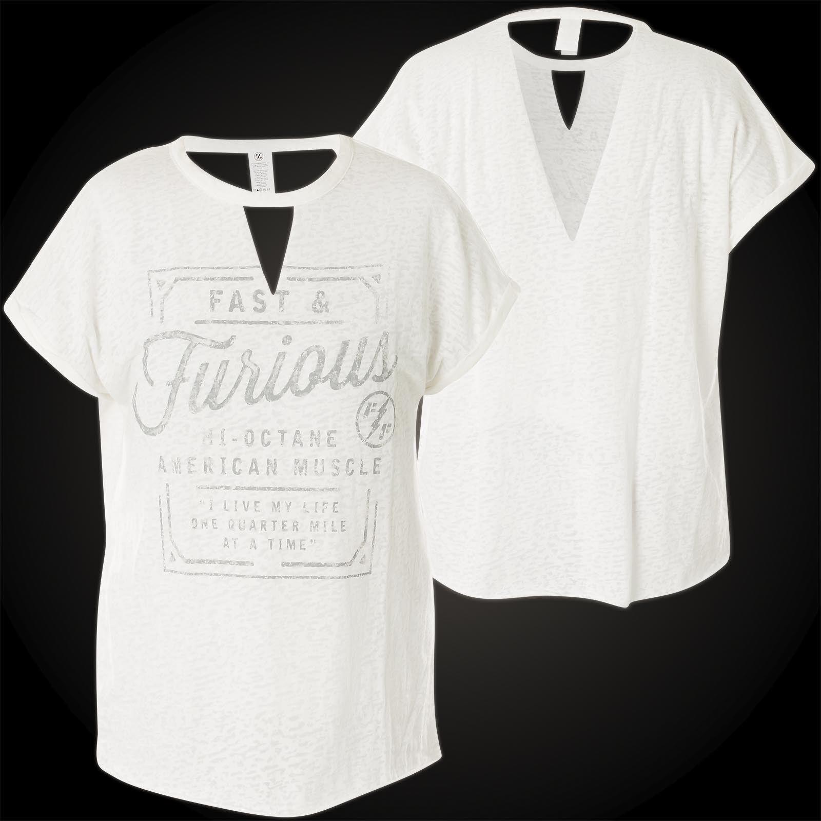 AFFLICTION Fast & Furious Furious Furious Damen T-Shirt American Muscle Roll | Fairer Preis  | Klein und fein  | Attraktiv Und Langlebig  | Verschiedene aktuelle Designs  | Überlegen  628a0e
