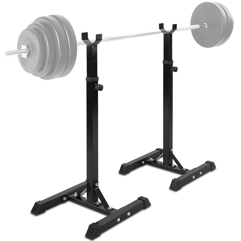 Supporto per Bilanciere porta manubri Pesi fitness Altezza Regolabile Physionics