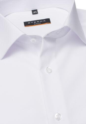 ETERNA Herren Kurzarm Business Hemd Slim Fit Chambray Kent Unifarben 8500.G170