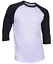 Raglan-Men-039-s-Casual-Baseball-T-Shirt-3-4-Sleeve-Plain-Jersey-Tee-S-2XL thumbnail 13