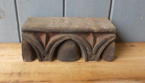 Terracotta Victorian Egg And Dart Bricks Corbel Headers Ornate