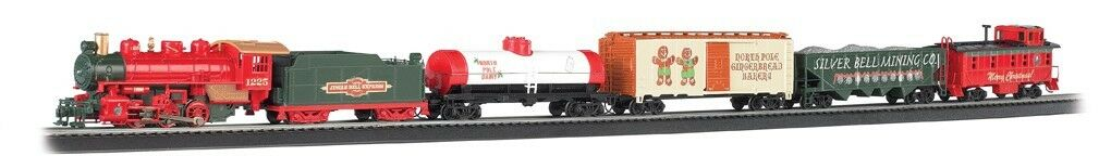 BACHMANN TRAINS HO Jingle Bell Christmas Express Train Train Train Set  BAC724 311852