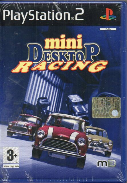 MINI DESKTOP RACING - PS2 (NUOVO SIGILLATO) ITALIANO