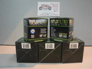 YAMAHA-YZ250F-FITS-2009-TO-2019-HIFLOFILTRO-OIL-FILTER-HF140-X-5-PACK