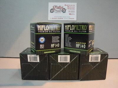 2007 2008 2009 Yamaha YFZ450 Genuine HiFlo Oil Filter HF140 YFZ 450 Pack of 5